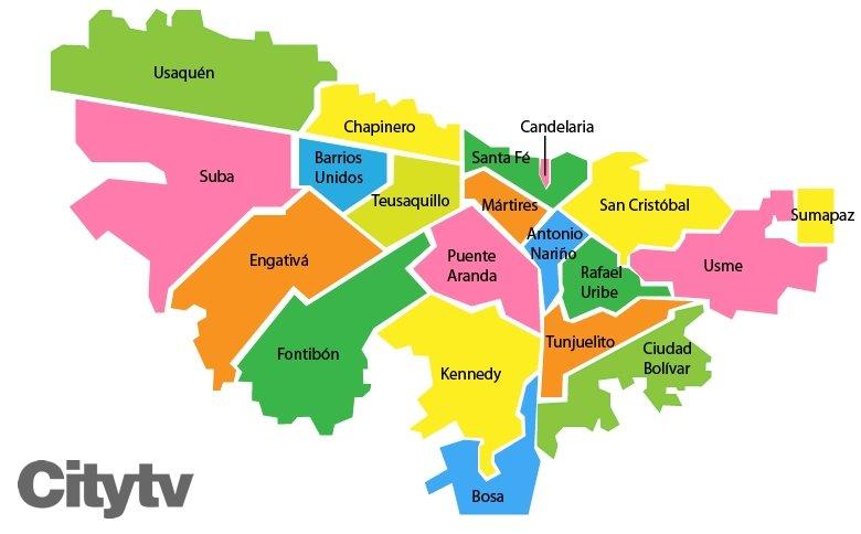 Barrios peligrosos de bogot seg n usuarios thinglink for Barrio ciudad jardin bogota
