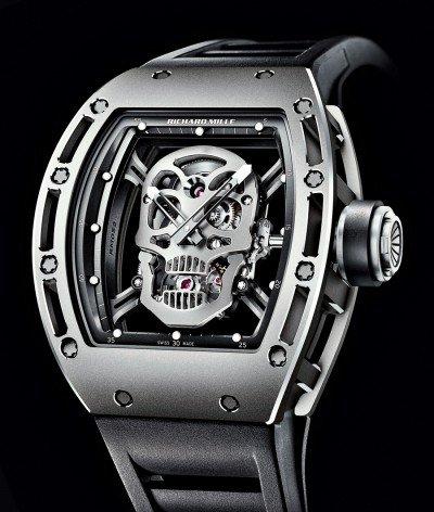 Second Hand Watches >> Copy Richard Mille RM 052 Tourbillon Skull Titanium Watch