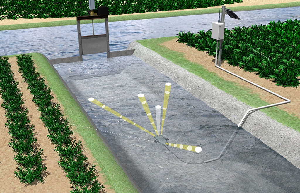 Irrigation Flow and Data Logger Solution