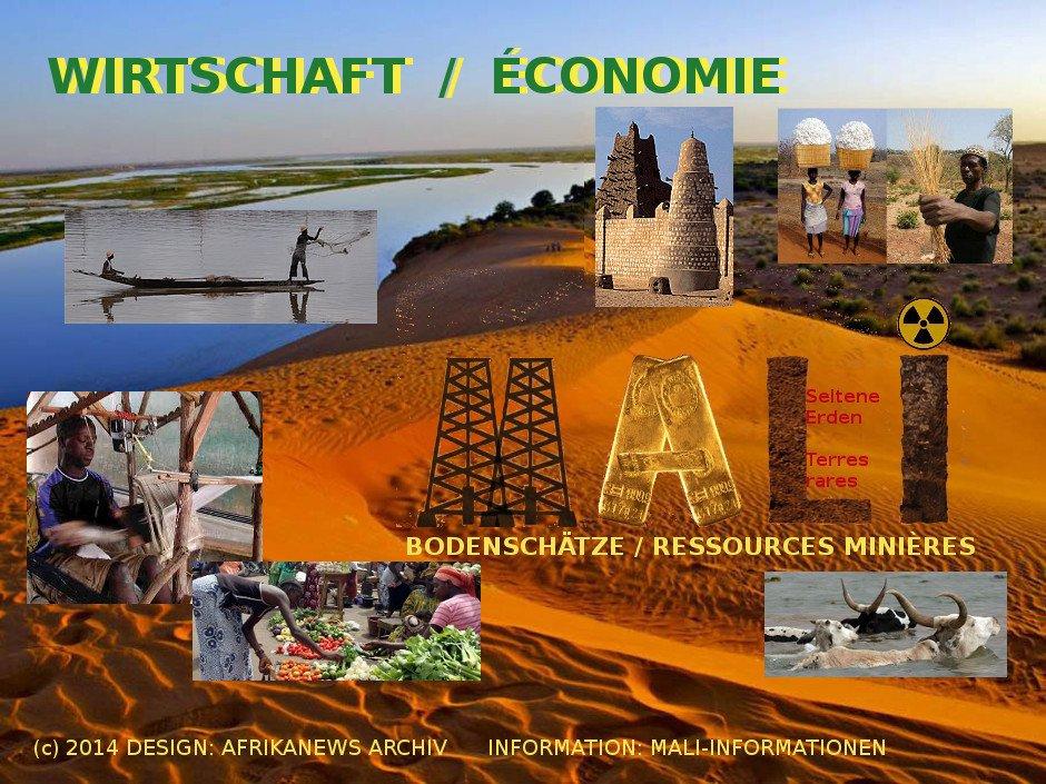 Mali: Wirtschaft - Économie