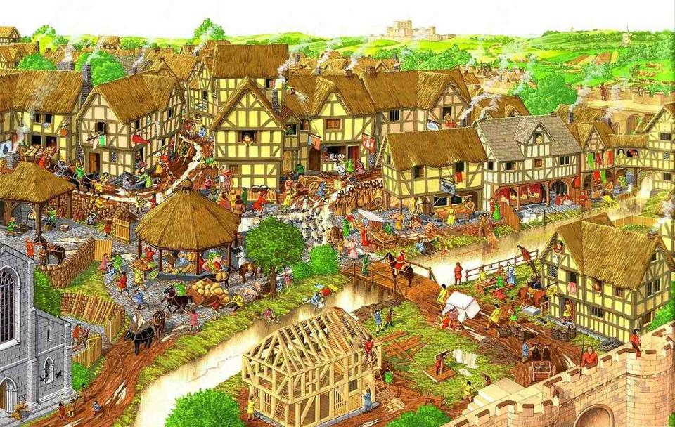 Could Team New Zealand Help Us Innovate In Education: A Medieval Town