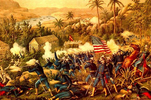 Cuba during the Spanish-American war.