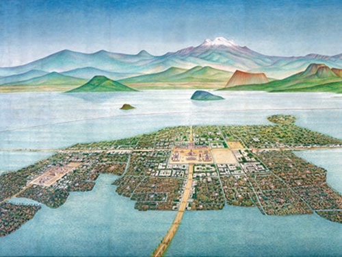 an analysis of the center of the aztec civilization was the valley of mexico Analysis totally rewrites the history of ancient turquoise  the vast region that extends from central mexico to central america  the ceremonial and ritual center of the aztec empire, which.