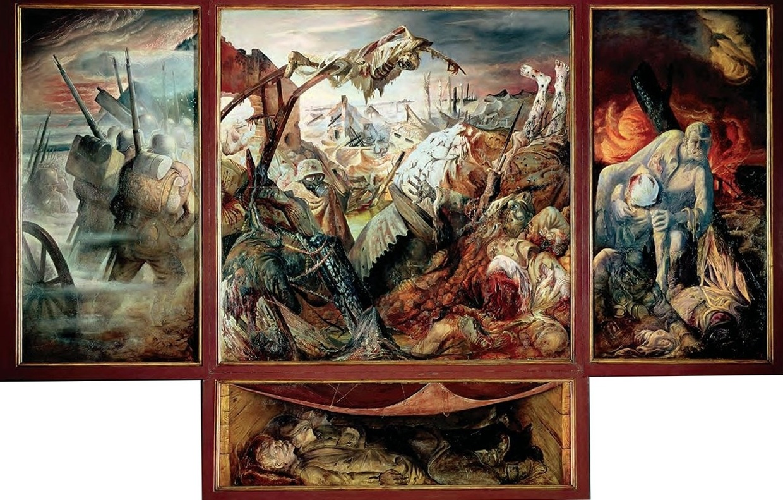 Otto Dix La guerre ( Der Krieg )