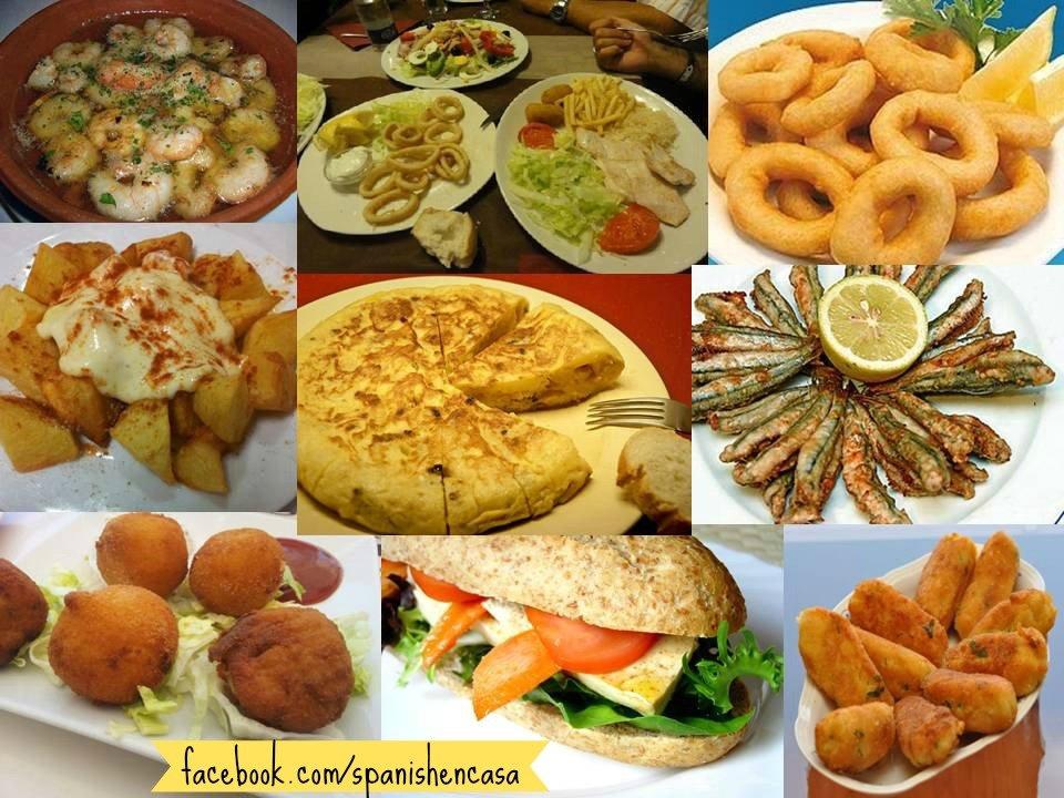 Tapas y otros platos t picos espa oles thinglink - Cuisine espagnole tapas ...