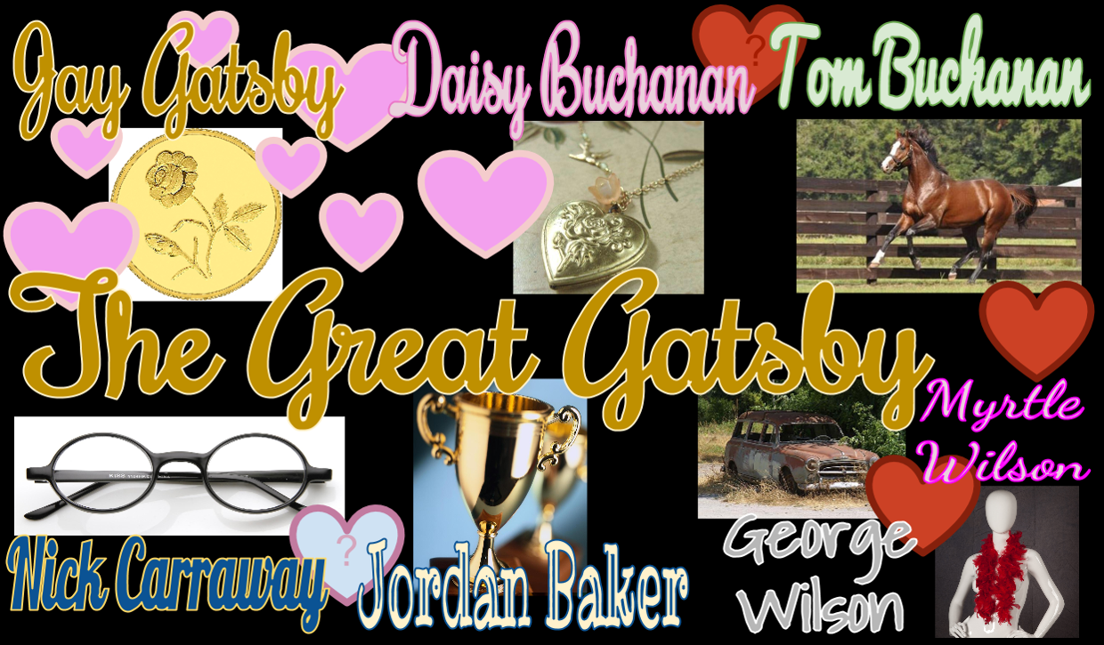 The Great Gatsby Character Songs Symbols