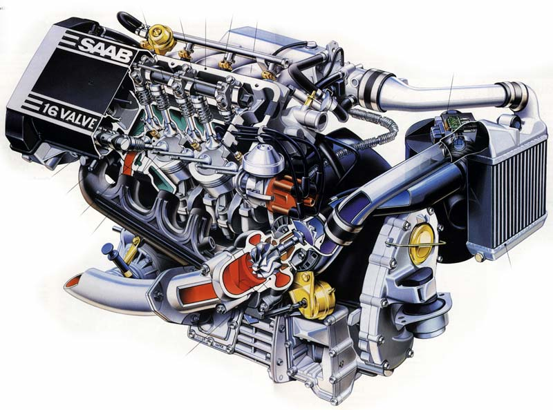 Engine With Turbocharger