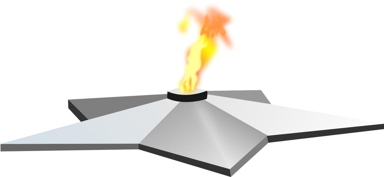 Картинка вечный огонь вектор