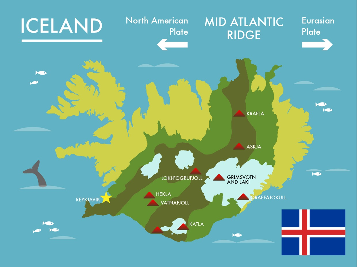 """Top """"to-do"""" spots for tourists visiting Iceland."""