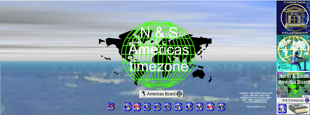 N & S Americas Google plus pages Time Zones