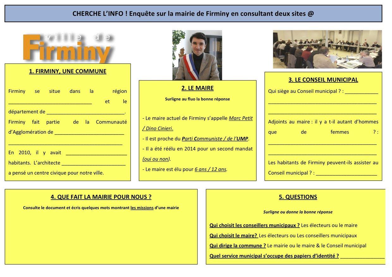 Enquête sur la mairie de Firminy !