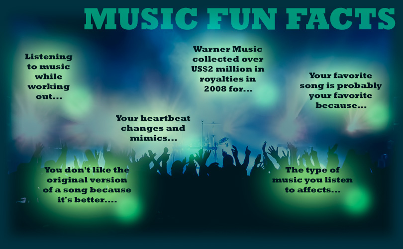 Music Fun Facts