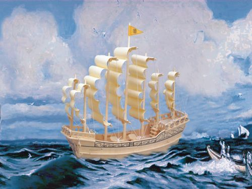 In 1300 B.C., Mesopotamia invented the sailboat. They inv...