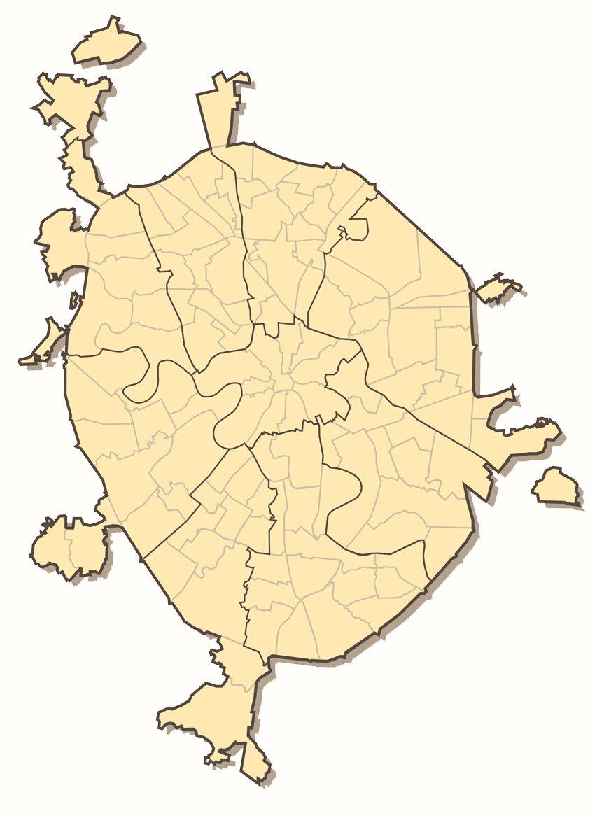 карта москвы с границами округов на картинке днем рождения, племяшка