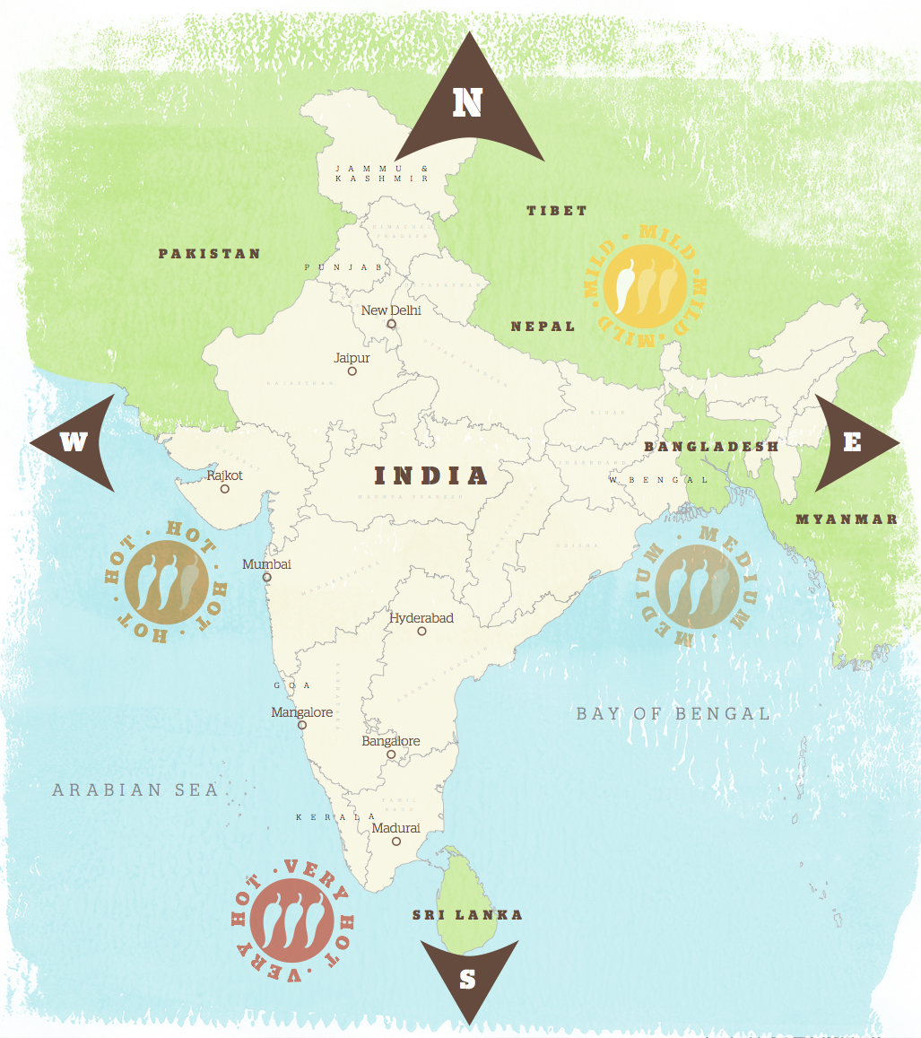 Mapping Indian Food