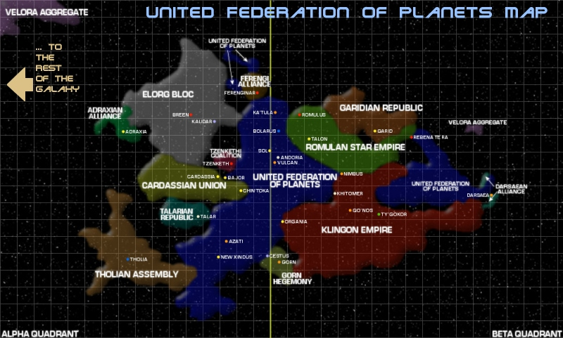map of federation of planets - photo #19