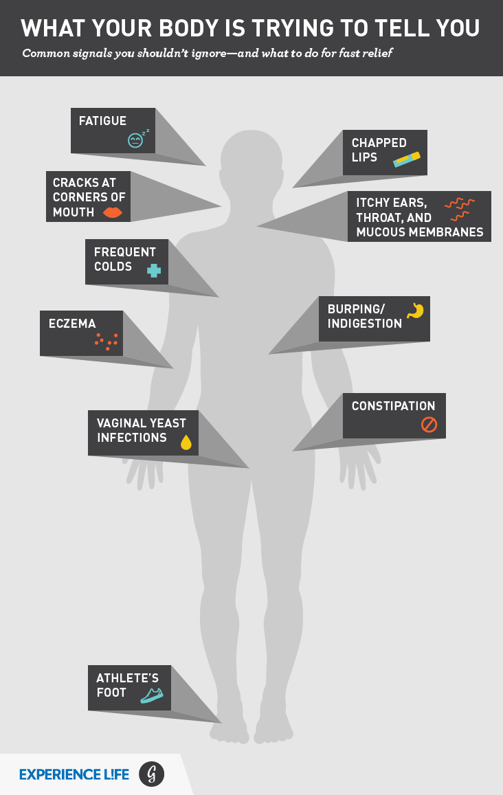 What Your Body Might Be Trying To Tell You