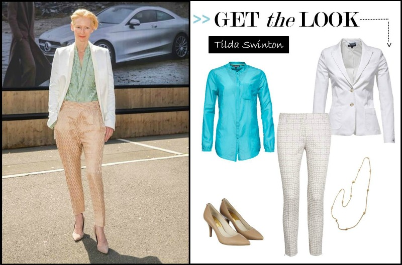 Get the Look Tilda Swinton (Bild: Mercedes-Benz Fashion)