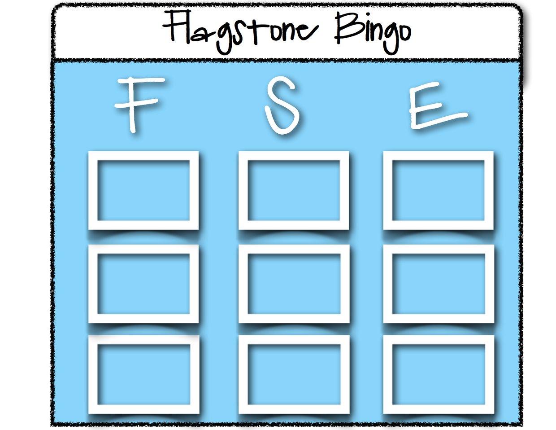 Flagstone Bingo