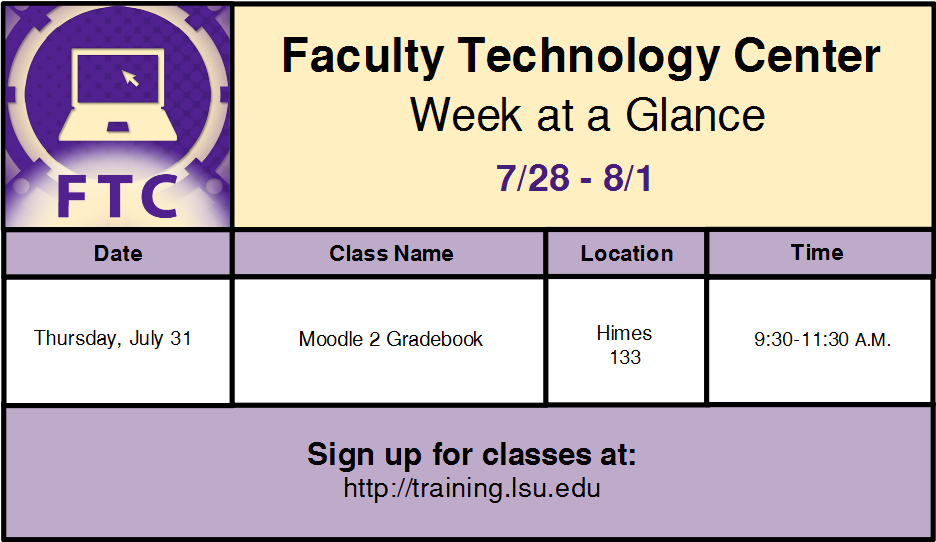 The LSU Moodle gradebook is customized for LSU users.  Th...