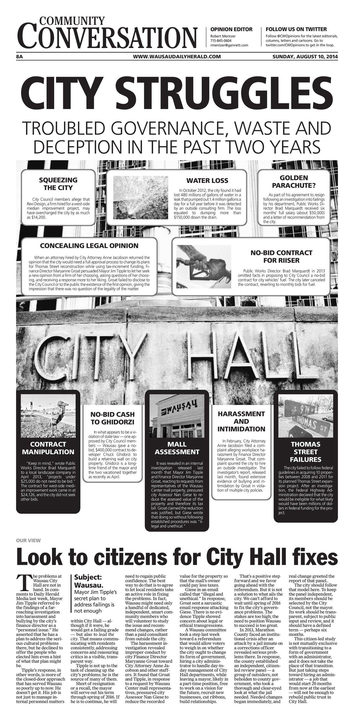 City Struggles - Community Conversation
