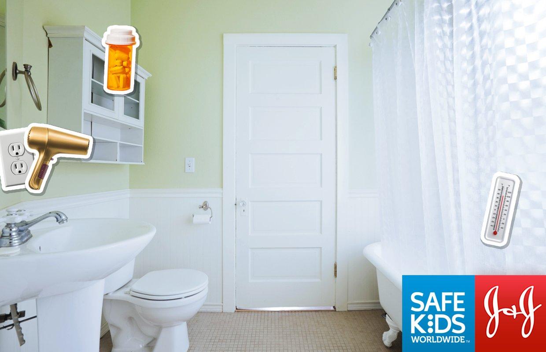 Bathroom Safety for Children