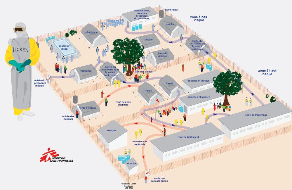 Centre de traitement d'Ebola [MSF]