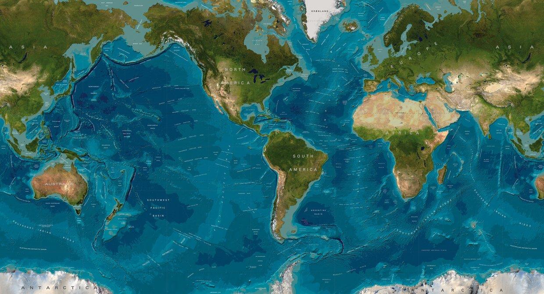 Earths Map%0A   years ago