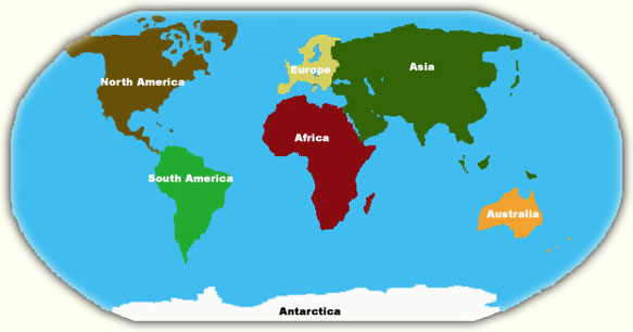 Antarctica is one of the largest continents ThingLink