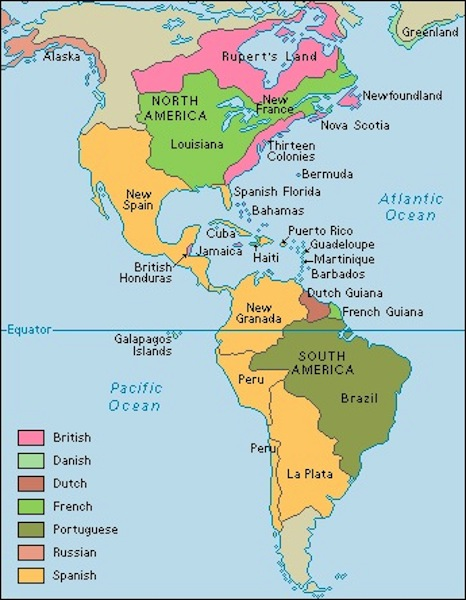 Colonization of the New World  ThingLink