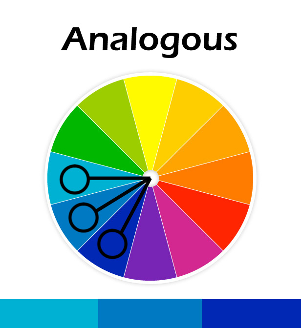 Analogous color combinations driverlayer search engine - Analogous color scheme definition ...