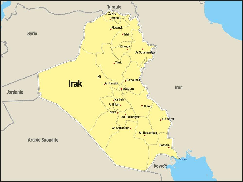 Activités de MSF en Irak