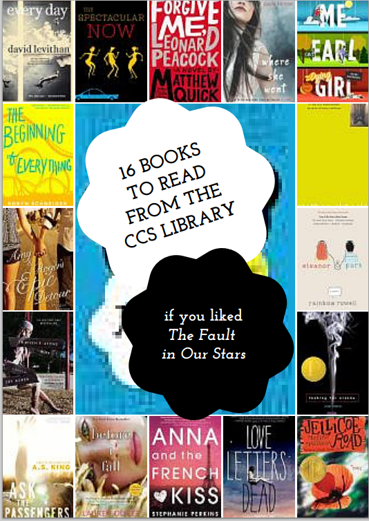 16 Book to read from the CCS Library