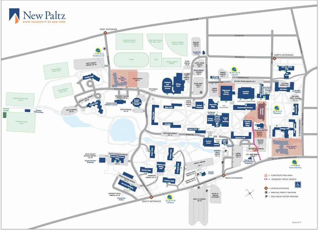 Gadgets 2018: Suny New Paltz Map