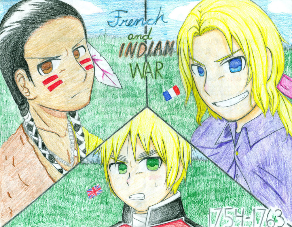 French and indian war in anime d