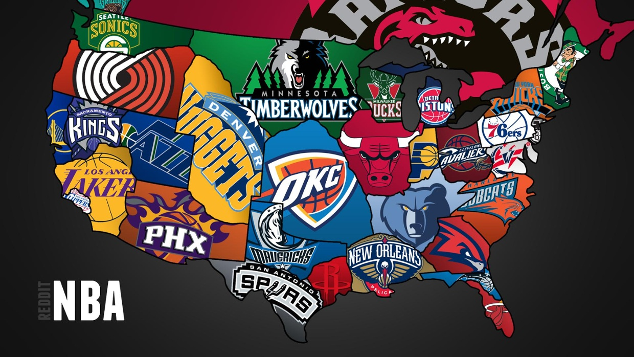 NBA Map - ThingLink