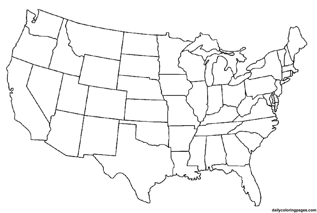 Line Drawing Us Map : An interactive image thinglink