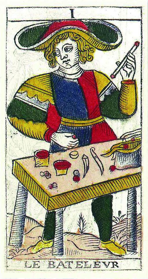Vincent Beckers présente le Bateleur du tarot