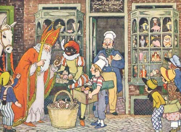 Praatplaat Met Prentenboeken En Liedjes Thema Sinterklaas