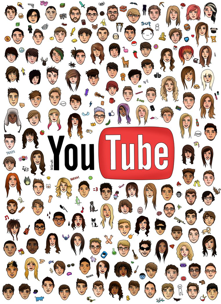Youtubers are entertainers!:), Some of my favourites incl...