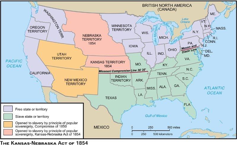 Kansas-Nebraska Act/Bleeding Kansas