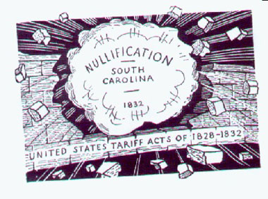 nullification controversy Nullification crisis of 1832-1833 in south carolina within the context of his  previous experiences abroad the work will analyze poinsett's occupations  before his.
