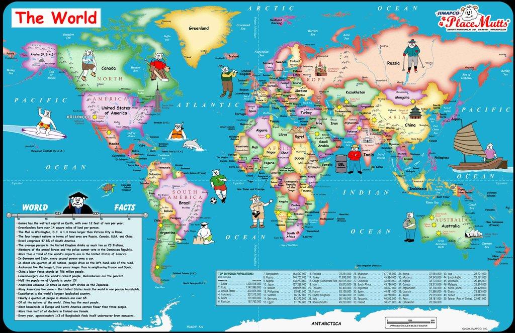 true?wait=true Simple World Map Road on