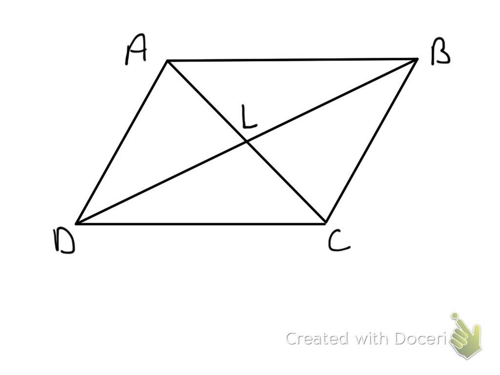 Properties of Parallelograms Honors Geometry