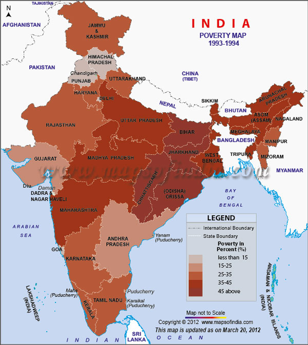 magnitude of rural poverty in india Poverty for india as a whole as well as for individual states throughout this paper, our concern is principally with the extent of absolute poverty in rural india, denned with respect to a fixed poverty line in terms of real per capita consumption.