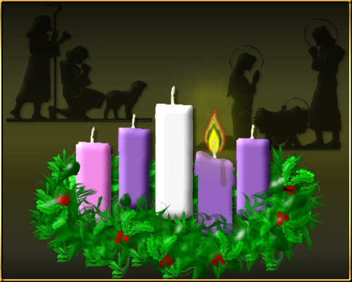 the advent wreath. Black Bedroom Furniture Sets. Home Design Ideas