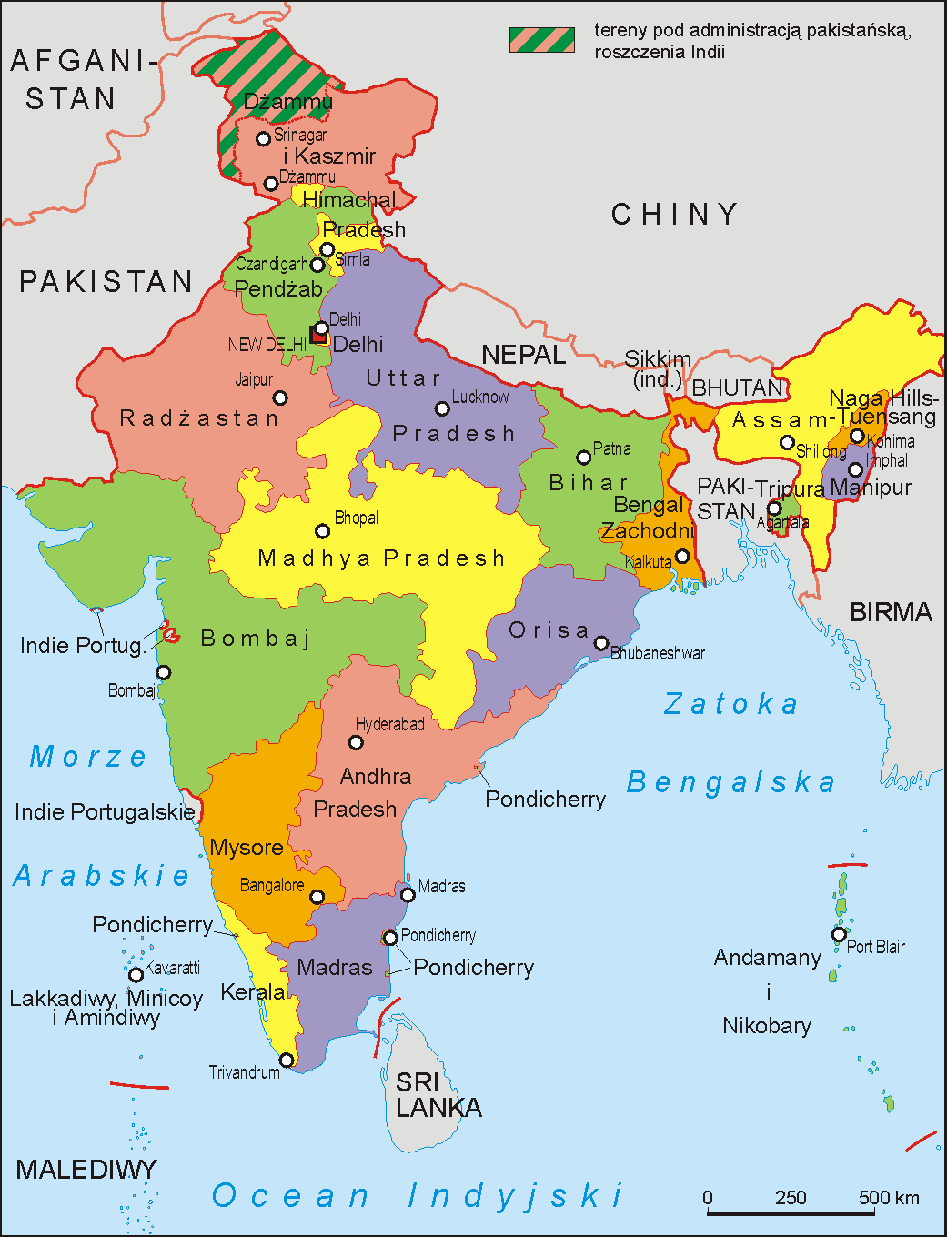 Map Of In Map of India Map Of In