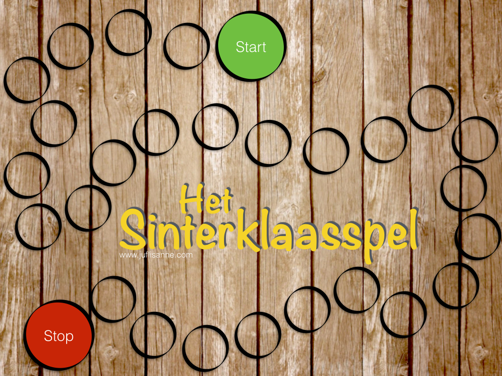 Sinterklaasspel digibord