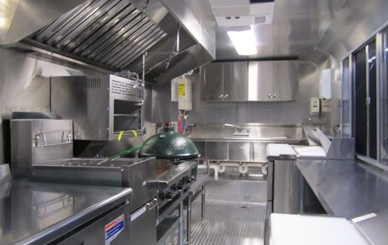 Fryer Conveyor Oven Stove Top Prep Station Ventilatio