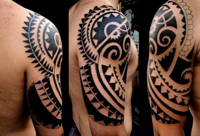 tatuajes maori thinglink. Black Bedroom Furniture Sets. Home Design Ideas